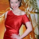 anna popplewell at premiere