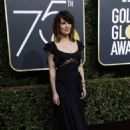 Lena Headey At The 75th Golden Globe Awards (2018) - 454 x 669
