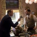 Bill Murray as Frank Quinn and Lucas Black as Buddy in Sony Pictures Classics' Get Low. Photo taken by Sam Emerson © 2009, Courtesy of Sony Pictures Classics