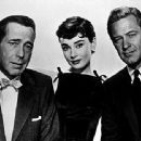 "Sabrina,"" Humphrey Bogart, Audrey Hepburn, William Holden"