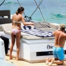 Ana Ivanovic in Bikini on a yacht in Mallorca adds