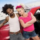 Jaime Pressly and Eddie Steeples