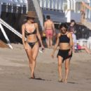 Talita Correa in Bikini on the beach in Malibu - 454 x 303