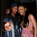 Brandy Norwood and Usher Raymond