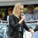 Kristen Bell at the Keep Families Together Rally and Toy Drive in Los Angeles - 454 x 681