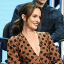 Leighton Meester – 'Single Parents' Panel at 2018 TCA Summer Press Tour in Los Angeles - 454 x 574