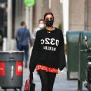 Irina Shayk – Heading to a meeting in New York City
