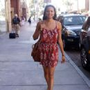 Rochelle Aytes goes shopping along Bedford Ave in Beverly Hills, California on June 26, 2013