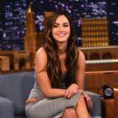 Megan Fox At The Tonight Show Starring Jimmy Fallon - 395 x 594