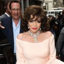 Joan Collins – Hello! Magazine x Dover Street Market Party in London - 454 x 681