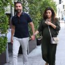 Eva Longoria and Jose Baston – Out in Los Angeles - 454 x 555