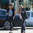 Elizabeth Olsen With a Friend – Out in Los Angeles 11/24/ 2016 - 454 x 511