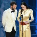Jamie Dornan and Dakota Johnson At The 89th Annual Academy Awards - Show (2017) - 454 x 312