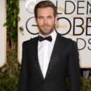 Chris Pine-January 12, 2014-71st Annual Golden Globe Awards - Arrivals