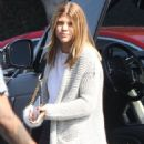 Nicole Richie's little sister Sofia Richie is spotted out shopping with a friend at Fred Segal in West Hollywood, California on July 7, 2015