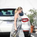 Kate Upton at Carasoin Day Spa and Skin Clinic in West Hollywood