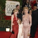 BEVERLY HILLS, CA - JANUARY 16: Stella Banderas, Melanie Griffith and Dakota Johnson attends The 63rd Annual Golden Globe Awards (2006)
