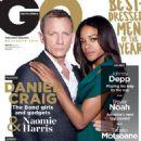 Daniel Craig and Naomie Harris in GQ Magazine - 454 x 603
