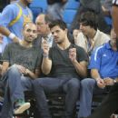 Taylor At The UCLA Basketball Game 1.23