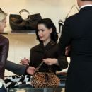 Dita Von Teese - Shopping On Rodeo Drive With Her Sister, 20.02.2008.