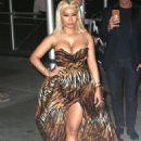 Nicki Minaj – Arrives at Harper's Bazaar ICONS Party in New York