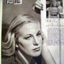 Hildegard Knef - Funk und Film Magazine Pictorial [Austria] (15 December 1950) - 454 x 638