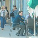 Kristen Bell Can't Keep Her Hands Off Imperator-Starbucks In La, 27.10.2010.