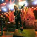 Judas Priest perform at The Pearl Concert Theater at the Palms Casino Resort on November 14, 2014 in Las Vegas, Nevada - 454 x 284