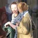 Annette Bening was spotted shopping with her daughter at The Grove in Hollywood, California on March 31, 2017 - 454 x 582