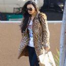 Naya Rivera – Leaving Albertson's supermarket in Los Feliz