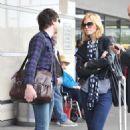 Mandy Moore And Ryan Adam At LAX Airport, 2009-03-21