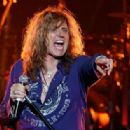 David Coverdale of Whitesnake performs at The Joint inside the Hard Rock Hotel & Casino as the band tours in support of