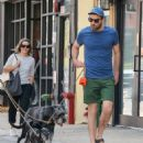 Zachary Quinto was spotted walking his dogs in New York City, New York on August 5, 2016 - 454 x 506