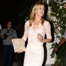 Adrianne Palicki Short Skirt at Chateau Marmont - 454 x 878