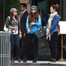 Selena Gomez with girlfriends in Beverly Hills, Ca January 24th,2013 - 454 x 439