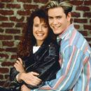Mark-Paul Gosselaar and Leanna Creel