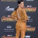 Evangeline Lilly – 'Avengers: Infinity War' Premiere in Los Angeles - 454 x 679