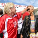 Amber Rose attends the Launch of Virgin America's First Flight from Los Angeles to Philadelphia at Los Angeles International Airport in Los Angeles, California - April 4, 2012 - 454 x 404