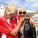Amber Rose attends the Launch of Virgin America's First Flight from Los Angeles to Philadelphia at Los Angeles International Airport in Los Angeles, California - April 4, 2012 - 454 x 363