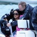 Salma Hayek  in St. Barts, France (December 29).
