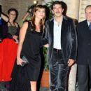 Pierfrancesco Favino and Anna Farzetti