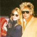 Rod Stewart and Kelly Emberg - 221 x 228