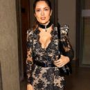 Salma Hayek at a Prada Bash in Paris
