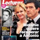 Antonio Banderas, Melanie Griffith - Lecturas Magazine Cover [Spain] (28 January 2015)