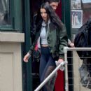 Adriana Lima Leaving Gleason's Famous Boxing Gym in NY