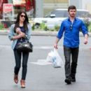 Ashley Greene grabbing dinner with her brother in Beverly Hills, CA (January 23)