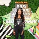 Teala Dunn – Nickelodeon Kids' Choice Awards Slime Soiree in Venice