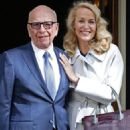 Jerry Hall and Rupert Murdoch - 454 x 681