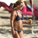 Coleen Rooney in Bikini in Barbados - 454 x 545