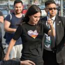 Courteney Cox – Arriving at Jimmy Kimmel Live! in LA - 454 x 598